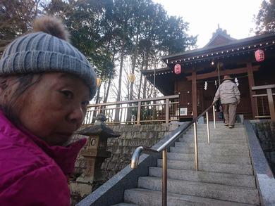 氏子になっている 八幡様に初詣に出かけました。