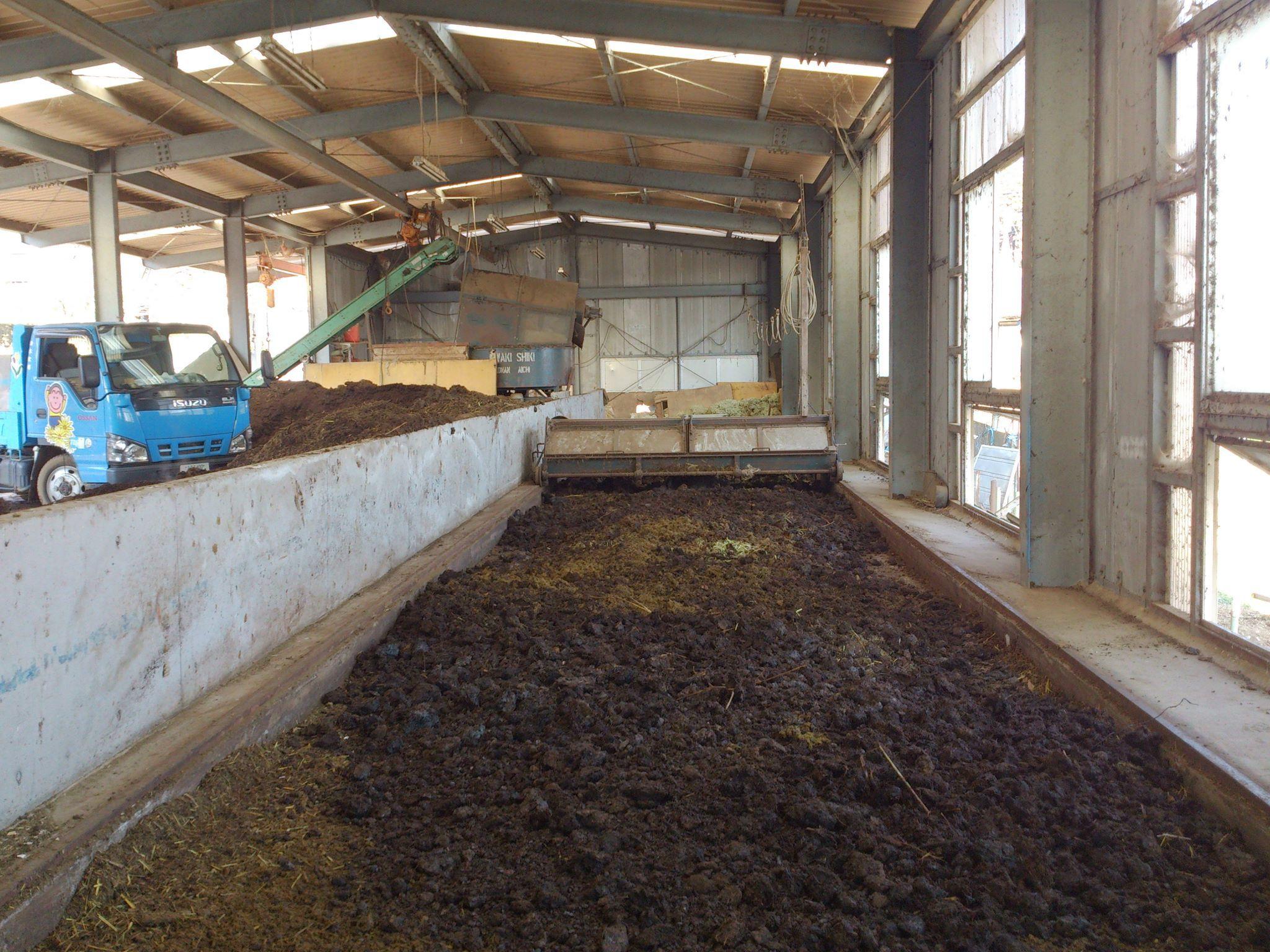 20度超えです。堆肥の増産していきます。
