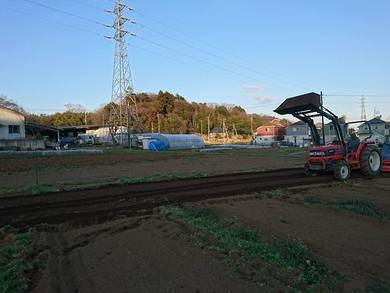 農業体験農園の畑の準備を 終えていました。