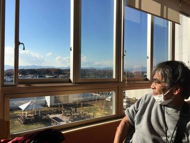 東海大学八王子病院のデイルーム8か月間入院