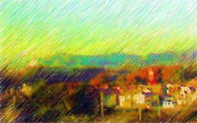 東海大学八王子病院からの絶景