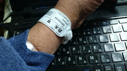 入院バンド