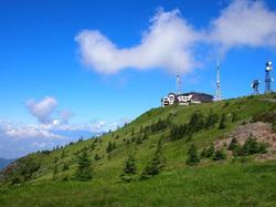 2000mの山頂ホテル