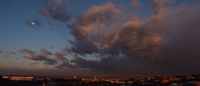朝焼け/夕焼け富士と雲