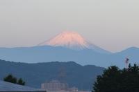 富士山と雪