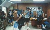映画「シン・ゴジラ」 調布市議会議長室で撮影