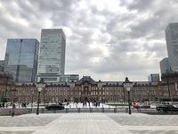 2018年1月20日(土) 還暦おじさんの突然のひとり暮らし奮闘記:東京駅前広場を見てきた