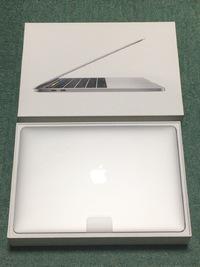 2017年7月24日(月) 新型MacBookProがやってきた!