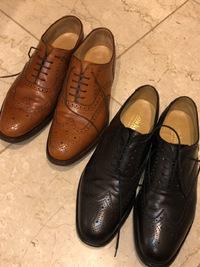 2018年9月20日(木) 還暦おじさんの再起動奮闘記:靴磨きもひとつの修行だね