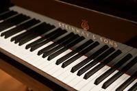 ピアノの撮影に来ています