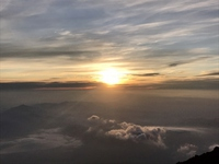 富士山頂 ご来光~