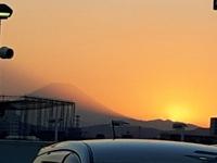 今日の富士山 2017/01/04 17:45:44