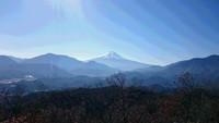 高川山を歩きました。2017年12月。