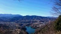 南高尾山稜を歩きました。2018年1月。