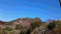 伊予ヶ岳と富山を歩いてきました。2018年2月。