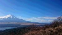 大平山から石割山を縦走しました。2016年12月。
