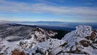 北八ヶ岳・天狗岳に登ってきました。2016年12月。