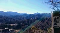 石盾山・金剛山・京塚山を歩いてきました。2017年2月。