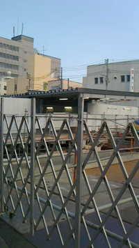 平成25年8月15日の調布駅地上写真