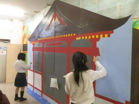 星槎国際高校立川学習センターの文化祭準備3