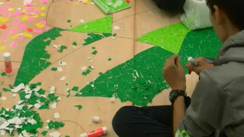 星槎国際高校立川学習センターの文化祭準備4