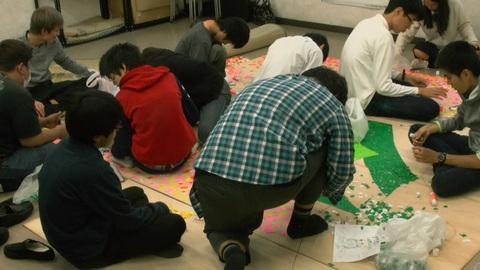 星槎国際高校立川学習センターの文化祭準備5