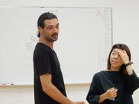 ワークショップ「紛争地・パレスチナから来た芸術家による《心の解放プログラム》」レポート