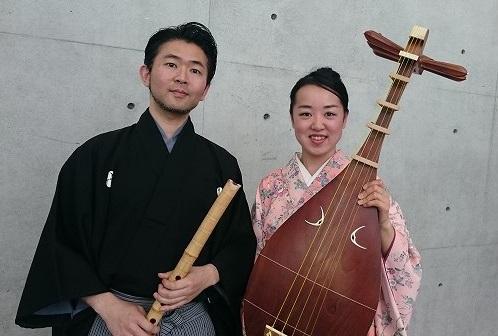 榎本百香さんと川俣夜山さん