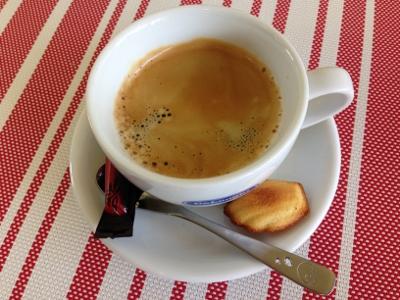 コーヒーマドレーヌ