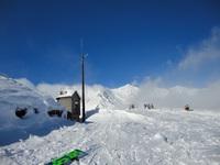 この景色は日本のスキー場ですよ