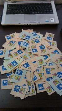 東北福祉大学の通信教育に要した切手