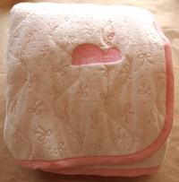 ふわもこタオルパッド(ピンク)