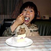 ソラ君のバースデイケーキ (お母さん用)