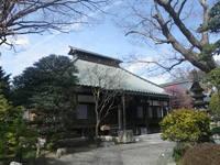 日野市安養寺で阿弥陀如来像を拝観しました。
