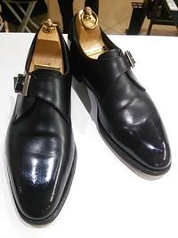 靴磨きなら39ミガキ!SHETLAND FOX・シェットランドフォックス モンクストラップ