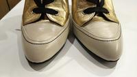 染め修理  靴磨きで隠しきれない擦れや汚れも、塗装でキレイにできます!