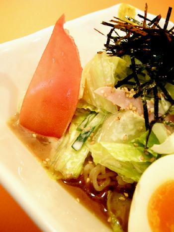 サラダ風彩菜冷し