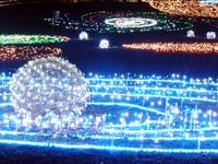 昭和記念公園☆イルミネーション「輝く城」2