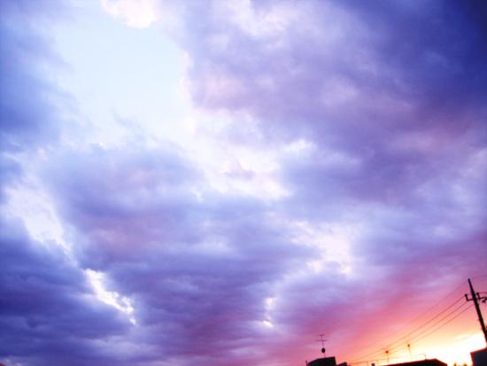 2月16日の空