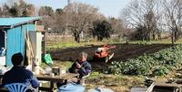 農園の初仕事