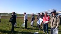 春の多摩川クリーン作戦に参加しました
