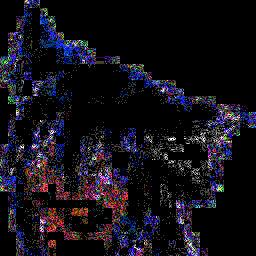 JPEG劣化_差分_1-17(×64)