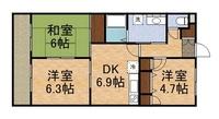 多摩エリア東大和市仲原の3DK賃貸マンション「ウエステリア」