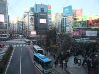 2016.12.25 クリスマスの日の渋谷、銀座界隈(東京・渋谷区と中央区)