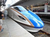 初乗車、北陸新幹線